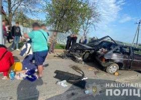 Под Одессой в крупном ДТП пострадали четыре человека
