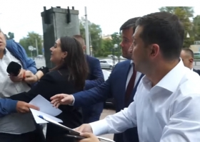 Пресс-телохранитель: Мендель рассказала, как защищала «личную безопасность» Президента от журналиста «Схем»