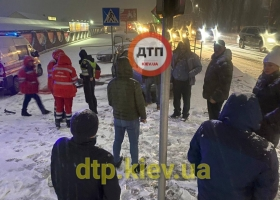 Под Киевом пьяный водитель насмерть сбил ребенка на переходе