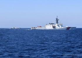 В Черном море состоялись совместные тренировки ВМС Украины и катера Береговой охраны США