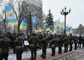 В центре столицы усилили охрану порядка
