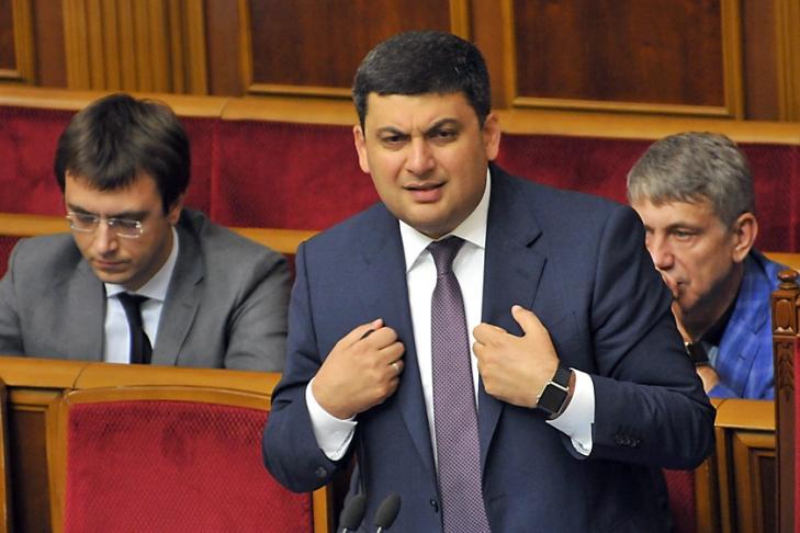 Гройсман анонсировал начало масштабного возведения дорог вУкраинском государстве