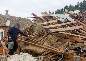 В Запорожской области мужчина при попытке суицида взорвал дом