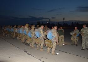 Сегодня ночью украинские морпехи произвели десантирование