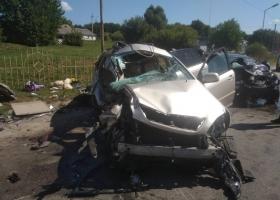 Масштабное ДТП в Киевской области: столкнулись две иномарки, травмированы пять человек