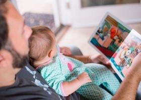 Рада поддержала законопроект, который разрешит отцу идти в декрет