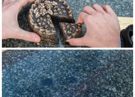 В Киеве исчез один из мини-памятников проекта